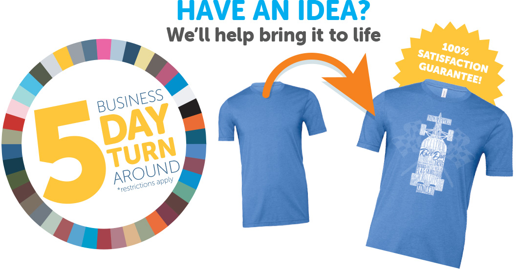 5 Business Day Turn Around (*exclusions apply)
